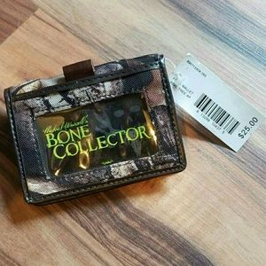 Bone Collector Accessories - BONE COLLECTOR Camoflauge Wallet • NWT